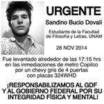 """@GiselleRetana: #SANDINOBUCIO por favor #difundir http://t.co/hPnmRCrunm"" @julioastillero @genarolozano @ManuelGarciaES @AlfredoJalifeR_"
