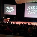 The Education Auditorium @UofRegina is filling up for @TheoFleury14 help us #PopTheStigma around mental health! #yqr http://t.co/KEpLgy2kli