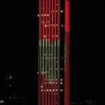 #HastaSiempreChespirito La torre Colpatria, en Bogotá, se suma al homenaje. Foto @NelsonCardena http://t.co/U8OTbq8lyM