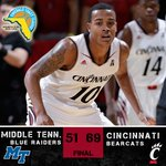 The #Bearcats are 5-0! http://t.co/LZ5gLTdyU4 UC plays Creighton or Ole Miss at 9 p.m. tomorrow on @CBSSportsNet. http://t.co/WL2IztwuSS