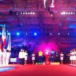 Ceremonia de premiación: oro #MEX, plata #COL, bronce #HON y #VEN. #LuchaLibre 69 kg. #Veracruz2014 http://t.co/b04rWiVzPS