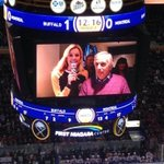 The Fonz. @hwinkler4real in the building. (@KelseyO129) #MTLvsBUF http://t.co/HH2nXC5s0s