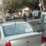 Auto y placas donde se llevaron a Sandino Bucio secuestrado por civiles armados. #YaMeCanse http://t.co/7xAVoDHvPl