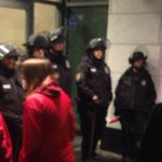Police letting shoppers in Westlake but apparently now keeping protestors out #Q13FOX http://t.co/ukN0tIojju