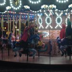 One thing protests cant disrupt: the Christmas carousel just across street #Q13FOX http://t.co/KxaZsOO8wr