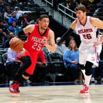 Photos from the first half of the Pelicans-Hawks game http://t.co/HAUOxfitJY #TakeFlight http://t.co/RhKp4G63cY