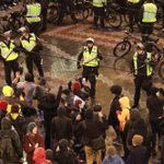 #Seattle #Ferguson protesters take over Westlake Center mall during Christmas Tree lighting ceremony Friday night. http://t.co/0lQnqpMRzL
