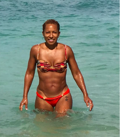 Jada Pinkett's mother.  She is 61. **drops the mic** http://t.co/e80iWHUifX