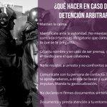 ¿Qué hacer en caso de detención arbitraria? #Rompeelmiedo http://t.co/hqzPAXUBXF