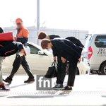 Super Junior ウニョク、イトゥク、ヘンリー(29日、仁川空港) http://t.co/dqukz0164x