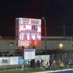 The Parkview Baptist Eagles defeat St.Charles Comets in a great game. Well played. PBS-29, St.Charles-20 @JeritRoser http://t.co/TMrafbcmfd