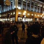 Wow. Thats a lot of cops. #ShutItDown #SF #Ferguson http://t.co/nn836xweKt