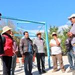 En la comunidad de #ElEscobal #Metztitlán se supervisó la construcción del sistema de agua potable @gobiernohidalgo http://t.co/0tzUX0EQMx
