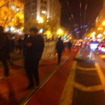 Separate marches converge and charge down Market St in San Francisco #BlackoutBlackFriday #Ferguson http://t.co/Urs1wN5uPG