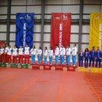 #Medallas por equipos mixto del bádminton, #Oro #CUB, #Plata #MEX, #Bronce #GUA #Veracruz2014 #CentroamericanosTVMÁS http://t.co/8sX45vdQJE