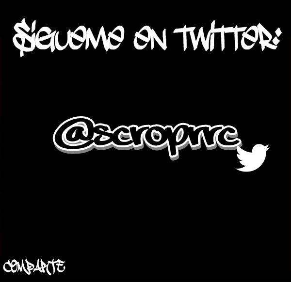 ScropTime  (@ScropRrc): ¡Vamos a darle RT!...  ➡ @ScropRrc  ➡ @ScropRrc  ➡ @ScropRrc http://t.co/63271FD7bA