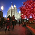 Temple Square lights up for holiday season http://t.co/W3J9QcG4Ru http://t.co/g2cZ0xCWWK