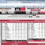Halftime and the @Runnin_Utes have a 37-26 lead over North Dakota #GamedayU #UNDvsUtah #MUSSterUp http://t.co/suwuzBPs0t