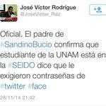 ASÍ DE PERRA ESTA LA REPRESIÓN:EXIGEN CONTRASEÑAS DE REDES SOCIALES A #SandinoBucio! #YaMeCanse #EmergenciasParaEl911 http://t.co/KehW1IvBXR