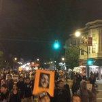 Valencia and 20th. With escort on both sides. #BlackFridayBlackout #SF #MikeBrown #BlackLivesMatter #Ferguson http://t.co/4UUmA4yabu
