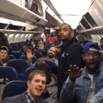 """VIDEO: Seahawks clown the 49ers with """"Bye Felicia"""" diss from the team plane after 19-3 win. http://t.co/OwMJJ76u0h http://t.co/Y5PRcaRsCs"""