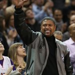 Check out scenes from the @Raptors game tonight at the ACC, including a cameo by Jalen Rose. http://t.co/UE5ztelz5p http://t.co/BDti12NRxa