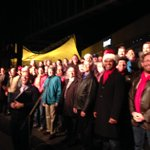 #HeartlandMensChorus at the Mayors Christmas Tree Lighting #CrownCenter #kansascity http://t.co/UqWMn4MmI1