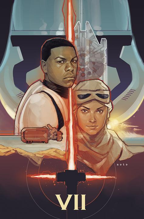 HOLY SITH. Mindblown. RT @EricIGN: How rad is this piece of art @philnoto whipped up today?! #StarWarsTheForceAwakens http://t.co/0G9ibeghYM