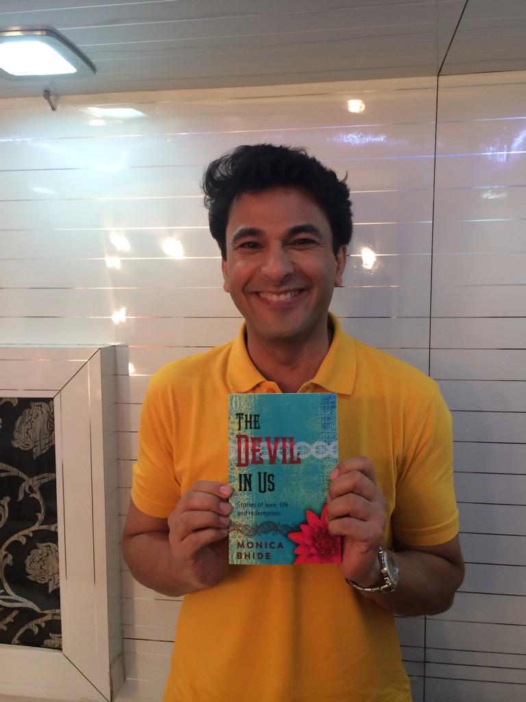 With my sweet and charming friend @TheVikasKhanna .. Thanks for your support http://t.co/BXjdBouUiu http://t.co/vRvN1P3xuC