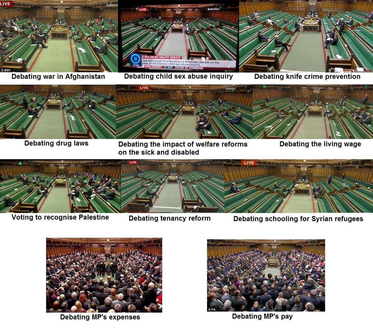 Estaría bien hacer una así del parlamento español RT @CLEARUK: What do our MPs really care about? http://t.co/79TgS5mixD vía @jaimenovoa