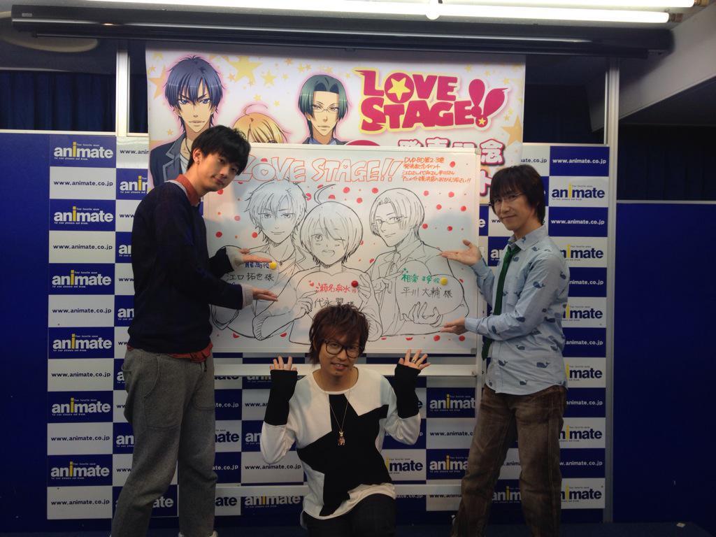 BD&DVD発売記念イベントinアニメイト横浜のイベントにお越しいただいた皆様、本当にありがとうございました!お店の方に