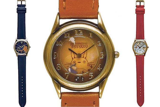 ジブリグッズから回転腕時計が発売『となりのトトロ』『天空の城ラピュタ』『紅の豚』の3種!