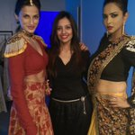 RT @shweta_malpani: @memusaitam with gorgeous @LakshmiManchu, @shilpareddy217  in Shilpas Malkha collection showcased in Paris recently htt…