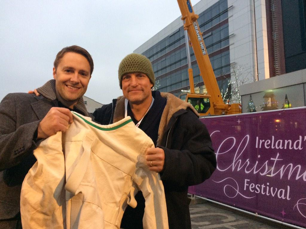 Look who turned up for the @Winterval_WAT festival in Waterford !!! http://t.co/oY3Aeh77Ob