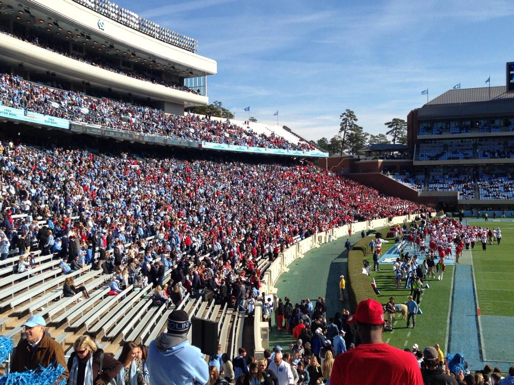 Strong #NCSU contingent here http://t.co/57HtGyksH1