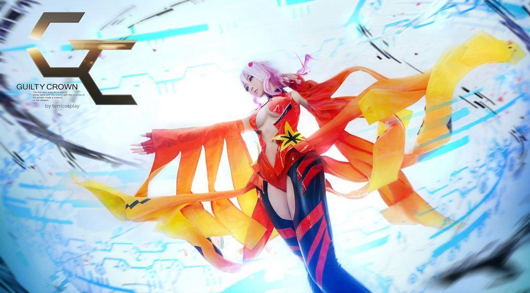 Inori Yuzuriha (Guilty Crown) par Terri Sang #cosplay guiltycrown http://t.co/zwJLjd9tmW