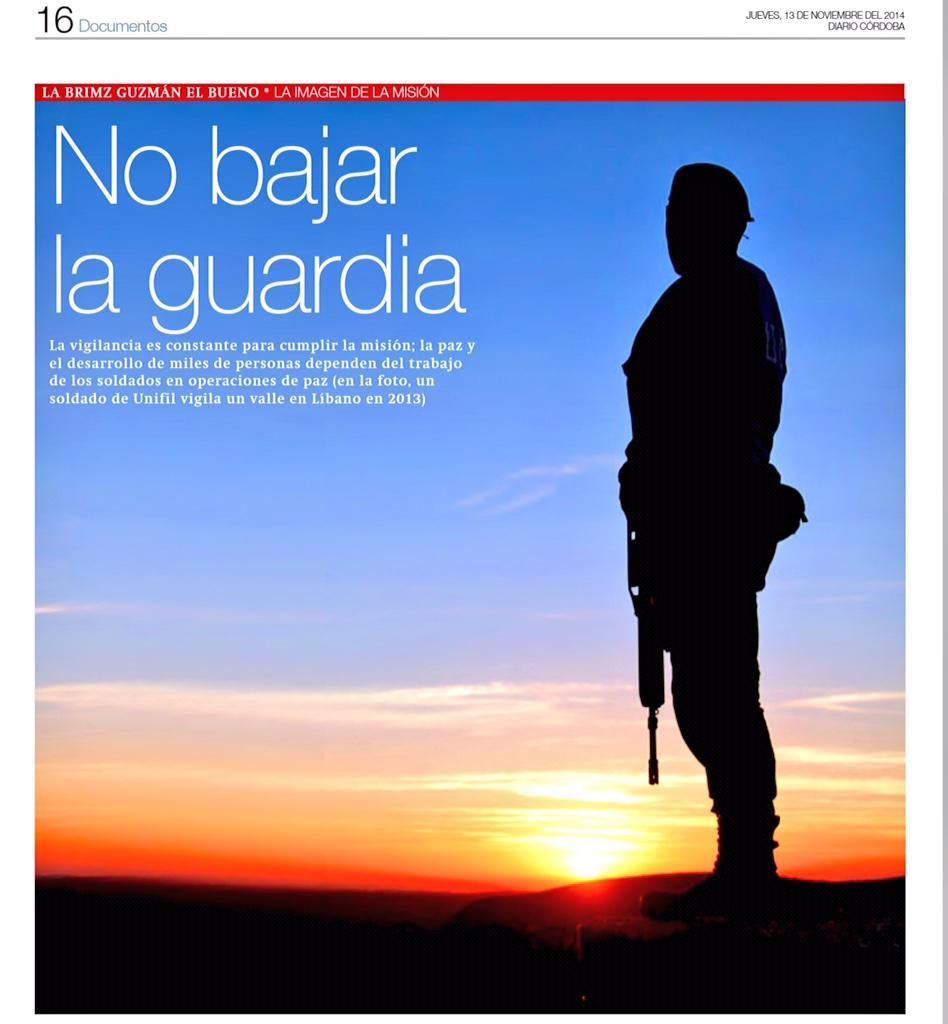 La paz y el desarrollo de miles de personas dependen del trabajo de los soldados en operaciones vía @CORDOBA_diario http://t.co/Rt1dOIxo5F