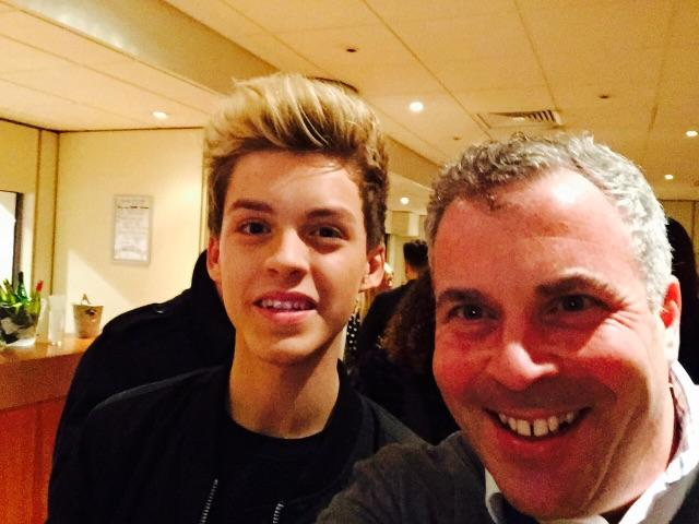 Great to meet you @ReeceBibby #xfactor Big shout out on @BBCLondon949 #thejamesmaxshow on Monday! http://t.co/kHeW0CeKjL