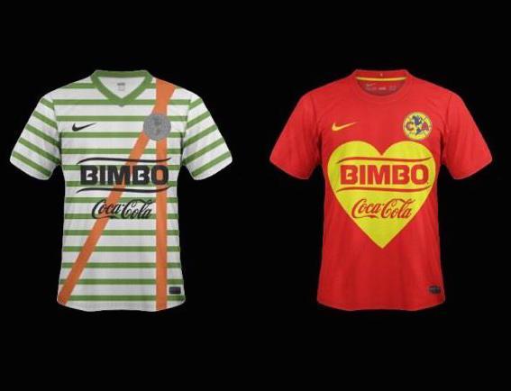 muy lindas camisetas del América de México en homenaje a Chespirito #ChauChavo http://t.co/c4IObaeFSB