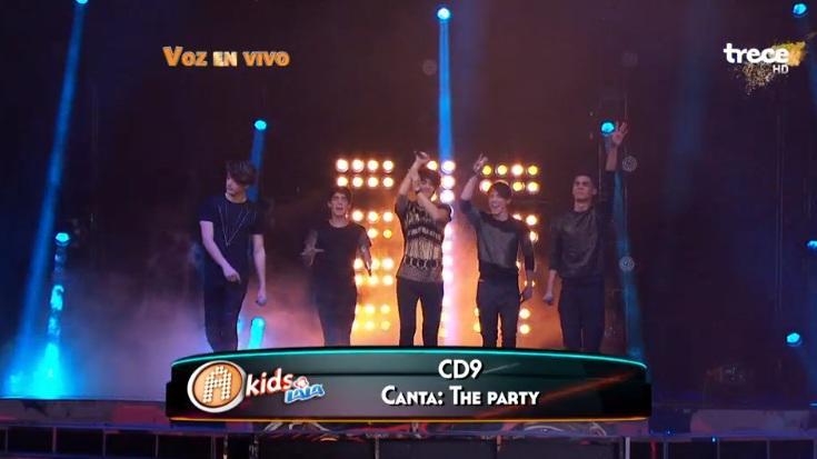 ¡@somosCD9 ya está de nuevo en el escenario cantando 'The party' #AcademiaKidsCD9! Síguenos: http://t.co/bUu1OFbtvn http://t.co/nWYSwSOn72