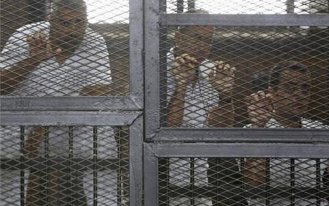 The man who ordered the killing of Egyptians is free. But the journalists that covered it remain in prison. #Egypt http://t.co/0KylJMOuG0