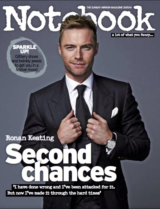 Interviewed @ronanofficial lots over the years & today's @notebooklive is one of the loveliest. @OnceMusicalLDN http://t.co/vJVmWLMaje