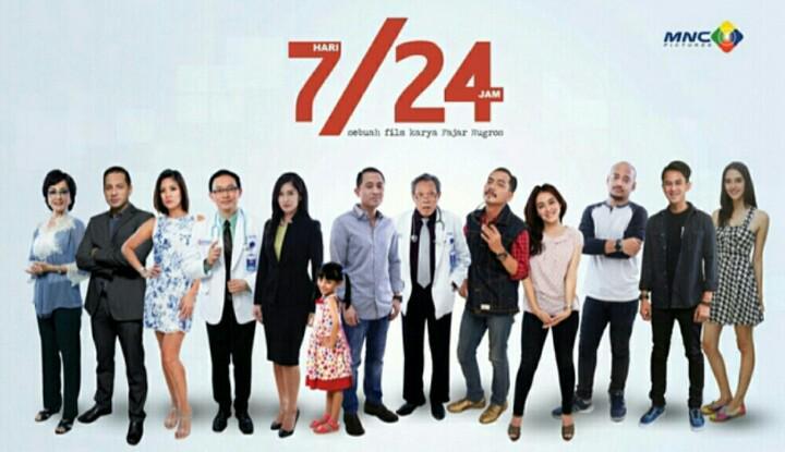 Nonton film @724Movie berkali2 gak bosen2. Yg belum nonton buruan nonton deh. Fresh feel good movie. #724Movie http://t.co/7ttJBVhjeE