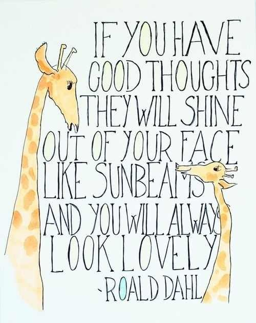 Have good thoughts!! http://t.co/GdaT87mkrH