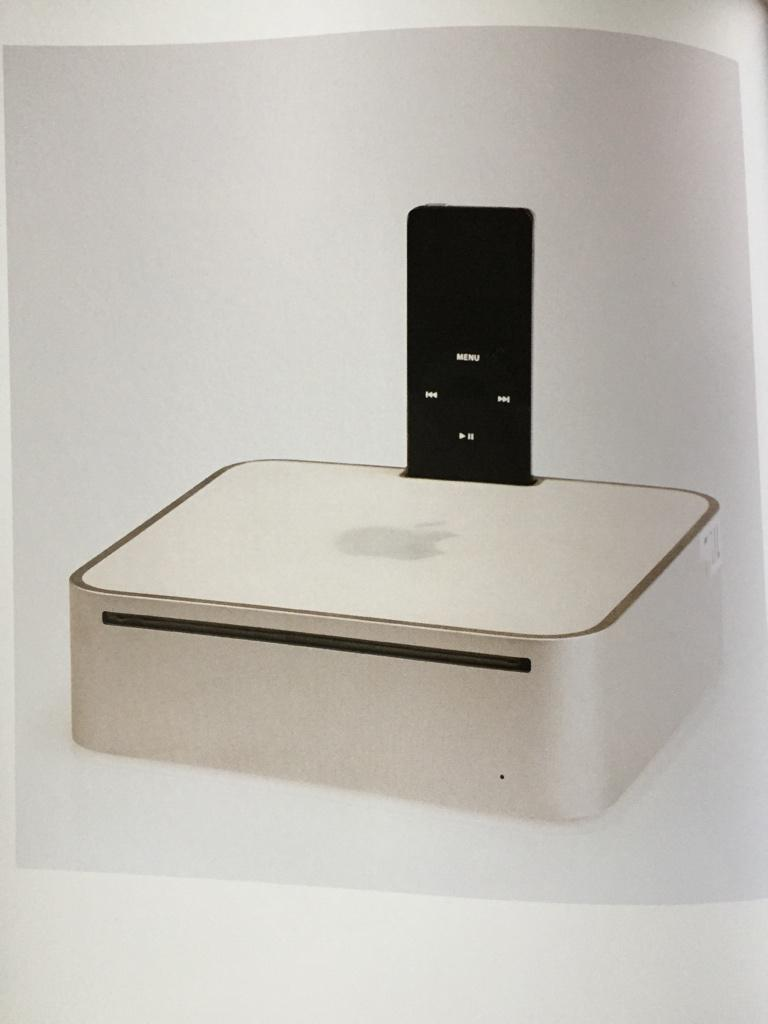 I want to hear the story behind this Mac mini prototype with a built in iPod dock.   (From @shrineofapple's Iconic.) http://t.co/n3gV82mnlL