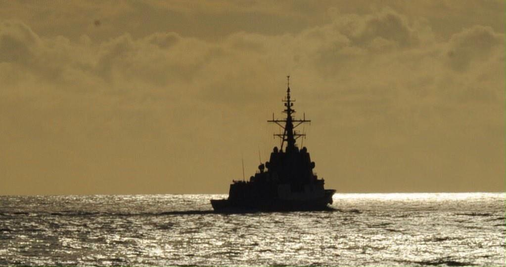 #Fotos Fragata 'Almirante Juan de Borbón' @Armada_esp en el Mediterráneo integrada en agrupaciøn naval @NATO #SNMG2 http://t.co/YSUejE2ZCj