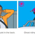 """@gigaom: Lyft ditches fist bump, encourages passengers to sit in the back seat. http://t.co/WTHK1insMa @carmeldea http://t.co/Yu3ODmWedK"""
