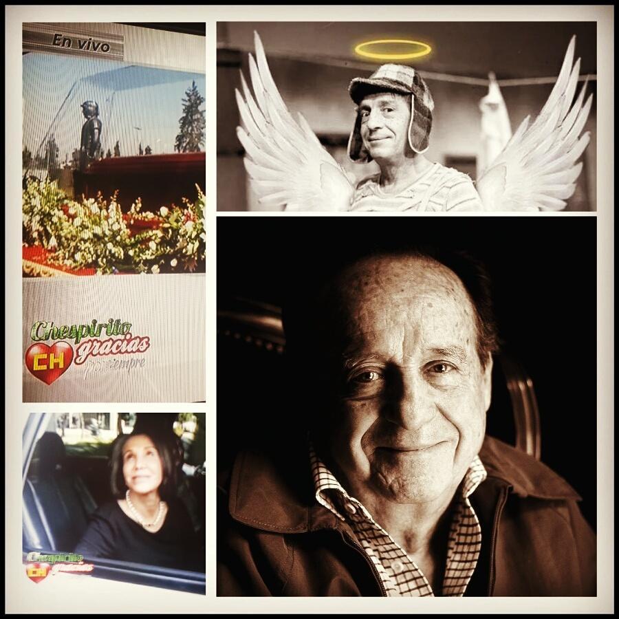 #AdiosChespirito Que hermoso el derroche de amor profundo para despedir a Roberto Gómez Bolaños #GraciasChespirito http://t.co/WJBrFvgOrP
