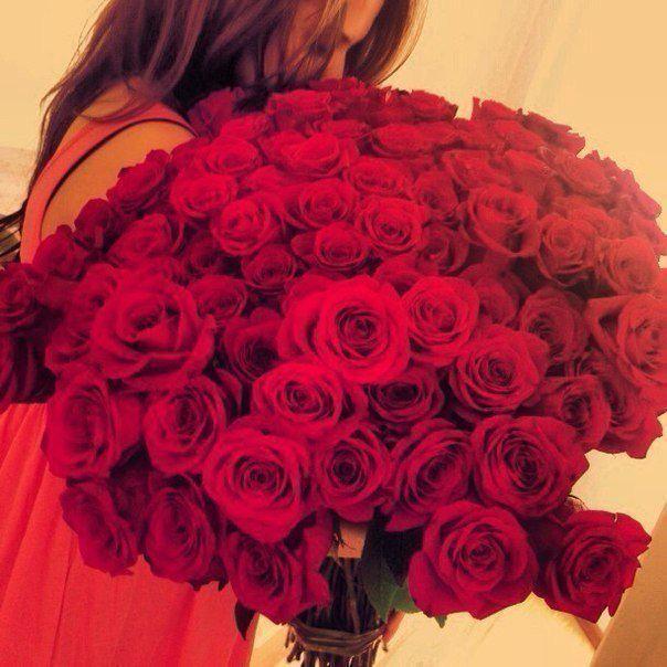 Фото цветы с девушками