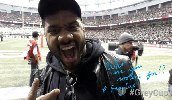 .@DangeRussWilson is here! #GreyCup http://t.co/jpUYOYPwHr